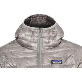 Patagonia Micro Puff Hoody Dame feather grey